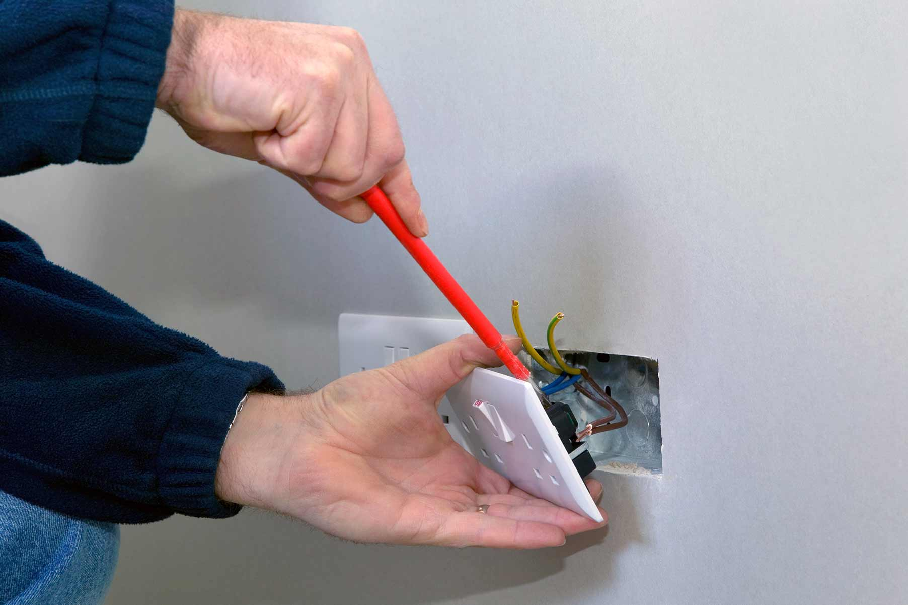 Our electricians can install plug sockets for domestic and commercial proeprties in Ickenham and the local area.